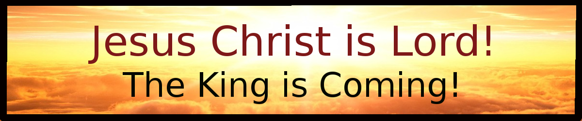 Jesus Christ is Lord!